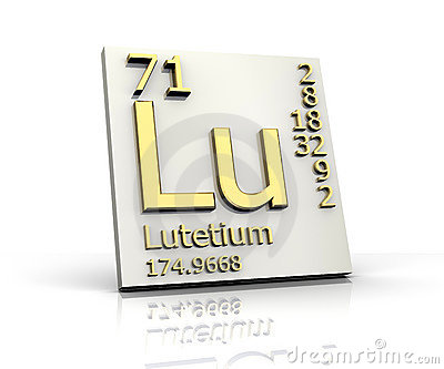 Lutetium form Periodic Table of Elements