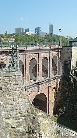 Luxembourg Castle Bridge