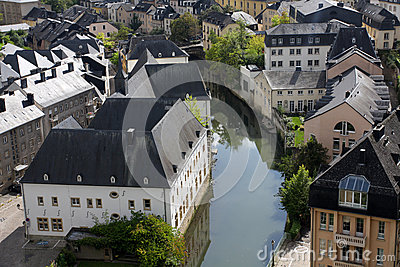 Luxembourg downtown