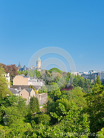 Luxembourg in early morning
