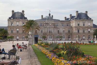 Luxembourg Gardens Editorial Photography