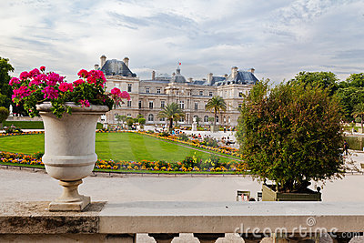 Luxembourg Gardens Editorial Photo