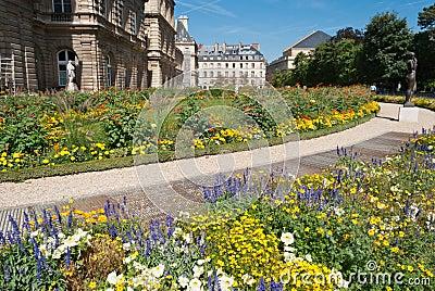 Luxembourg gardens detail, Paris, France