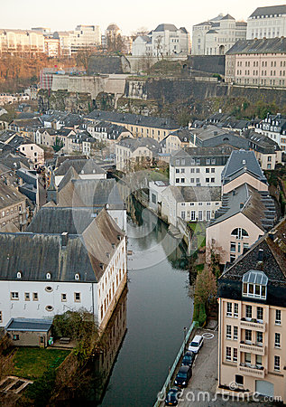 Luxembourg historical center