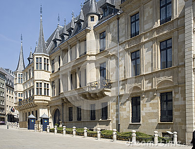 Luxembourg. Palace of the Grand Duke of Luxembourg,