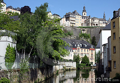 Luxembourg and River