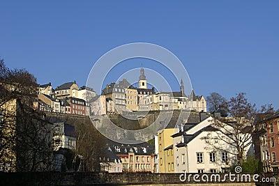 Luxemburg-Hintergrund