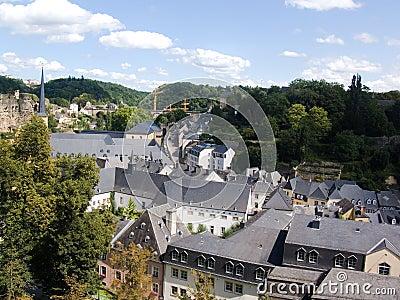 Luxemburg, street