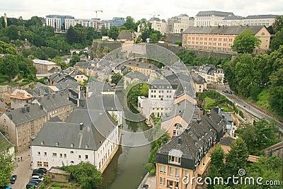 Luxemburg van de binnenstad