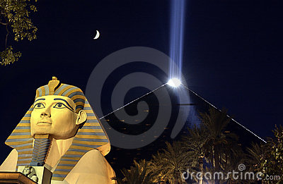 Luxor Casino - Las Vegas - Nevada - USA Editorial Stock Photo