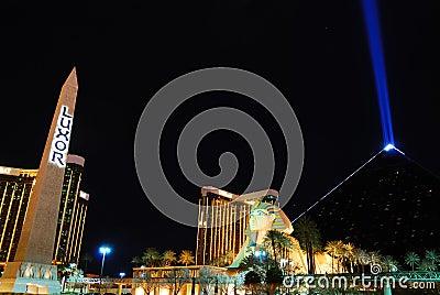 Luxor Hotel Casino, Las Vegas Editorial Photography