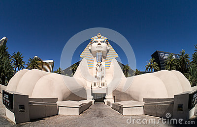 Luxor Hotel and Casino Las Vegas Editorial Image