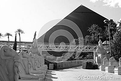 Luxor Hotel - Las Vegas Editorial Stock Photo