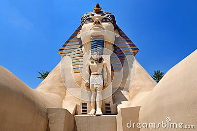 Luxor Hotel in Las Vegas Editorial Stock Image
