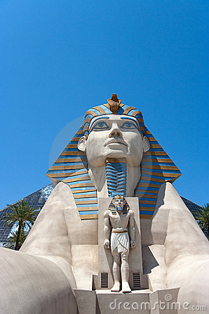Luxor Hotel Sphinx Editorial Photography