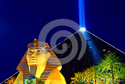 Luxor Las Vegas Hotel and Casino Editorial Photography