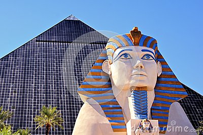 Luxor, Las Vegas Editorial Photography