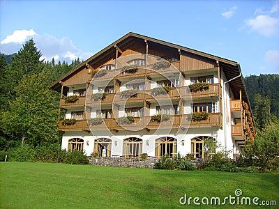 Luxurious Bavarian hotel