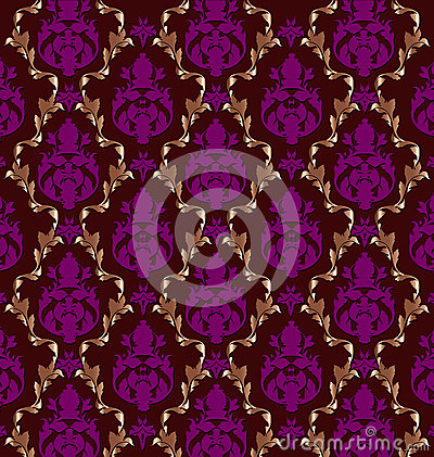 Luxurious  brocade pattern