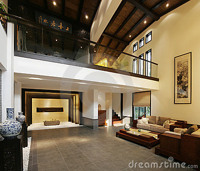 Luxurious Chinese home