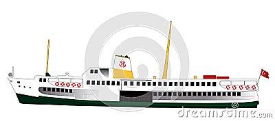 Luxurious Cruise Ship