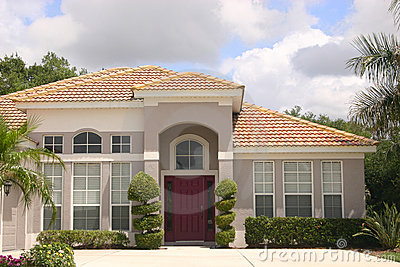 Luxurious Detached House Stock Photos - Image: 14325613