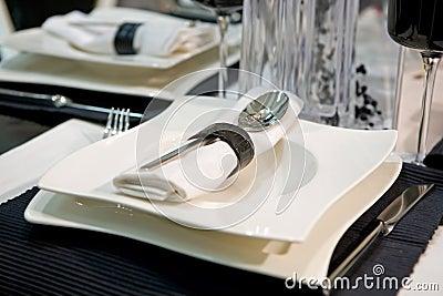 Luxurious dinner