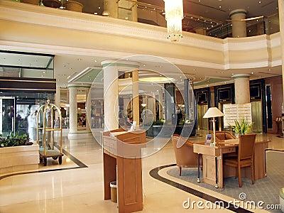 Luxurious foyer