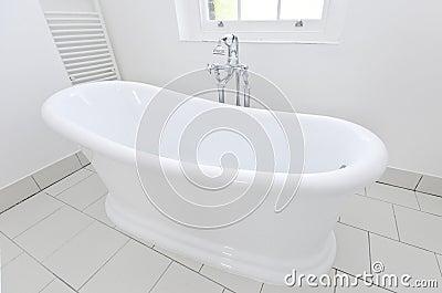 Luxurious free standing bathtub detail