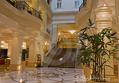 Luxurious Hotel Lobby