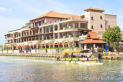 Luxurious Hotel of Malacca Editorial Image