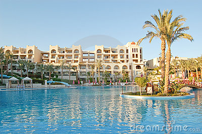 Luxurious hotel, Sharm el Sheikh, Egypt