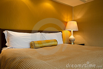 Luxurious king sized room