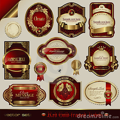 Luxurious labels
