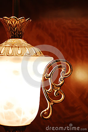 Luxurious lamp