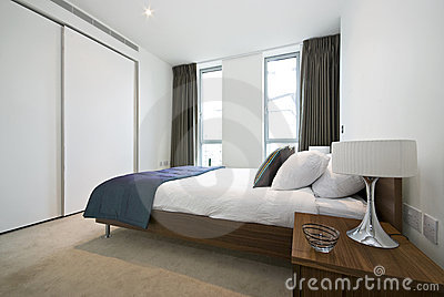 Luxurious modern bedroom