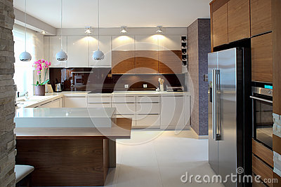 Luxurious modern kitchen