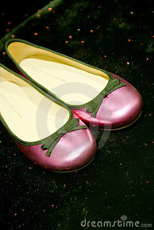 Luxurious pink shoes