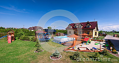 Luxurious Private House Royalty Free Stock Photos - Image: 25268358