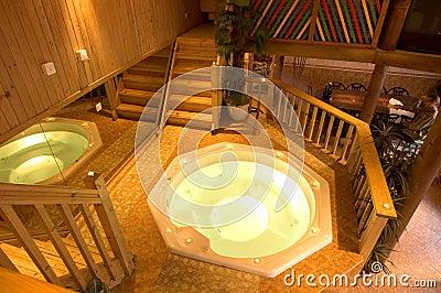 Luxurious sauna 1