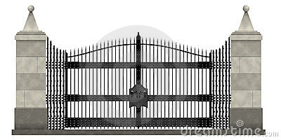 Luxurious set of gates