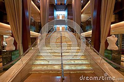 Luxurious stairway