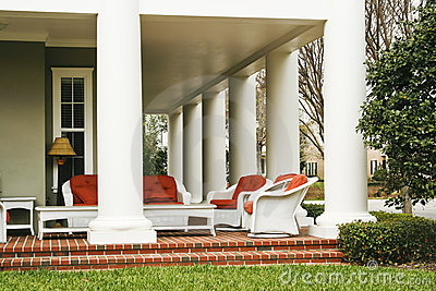 Luxurious veranda