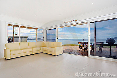 Luxurious waterfront apartment