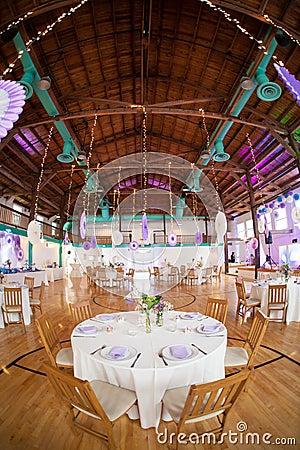 Luxurious wedding reception