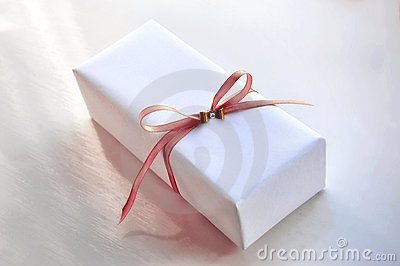 Luxurious White Gift Box