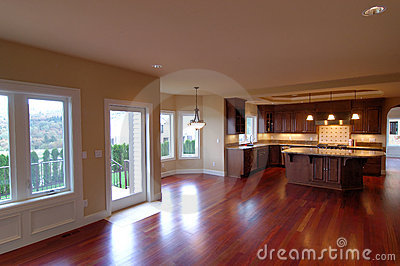 Luxury american house interior no 3 royalty free stock Casas americanas interior