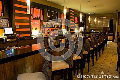 Luxury bar restaurant