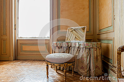 Luxury baroque interior