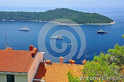 Luxury boats and warm seas